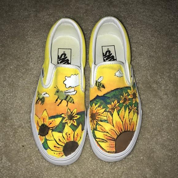 Vans Shoes | Tyler The Creator Flower